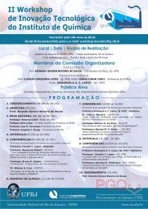 II Workshop de Inovação Tecnológica do IQ-UFRJ