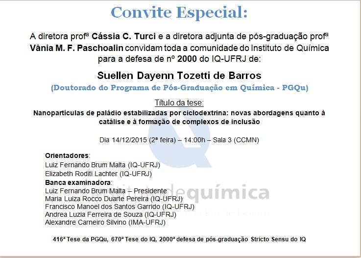 Convite tese 2000