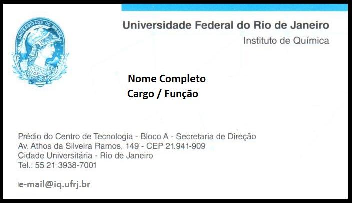 Cartão Institucional
