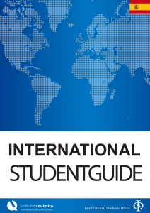 International StudentGuide (espanhol)